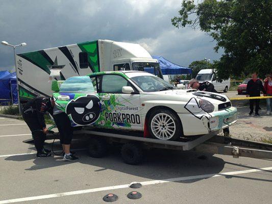 Нов автомобил за Калин Бенчев