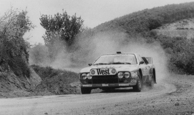 Rally Zlatni piasatzi – Albena 1984
