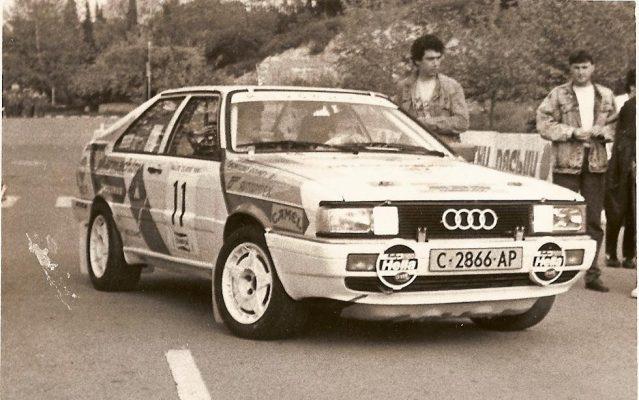 Rally Zlatni piasatzi – Albena 1987