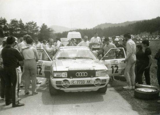 Rally Zlatni piasatzi – Albena 1989