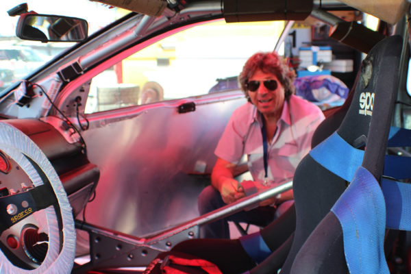 The 69-year- old Stoyan Apostolov – an example for the young drivers