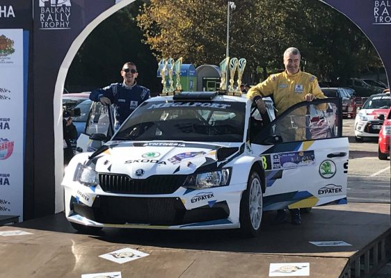 Miroslav Angelov won Rally Bulgaria and the championship